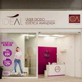 Centro de Estética en Centro Comercial Los Alisios, T.M.Las Palmas G.C. Proyecto de instalaciones, apertura, coordinación de seguridad y salud y dirección de obra.