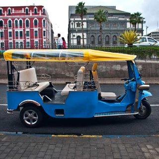 Vehículos eléctricos turísticosProyecto de Instalación de baja tensión de local para almacenamiento y recarga de vehículos eléctricos turísticos.