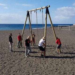 Bestial Race, en Playitas, FuerteventuraSupervisión de montaje de carrera de obstáculos y realización de certificado técnico de montaje.