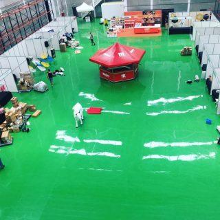 Feria de hostelería en las instalaciones de Orthidal, Pol.Ind.ArinagaRealización de plan de evacuación y emergencia.