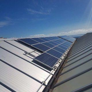 Ayuntamiento de Santa Cruz de La PalmaAuditoría energética en planta fotovoltaica de 100kw, en pabellón municipal.