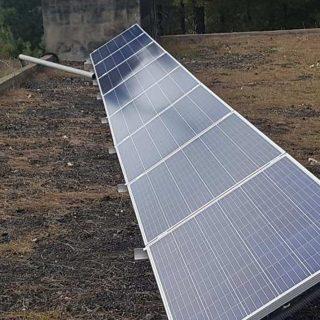 Ayuntamiento de Puntagorda, La PalmaPuesta en marcha de dos instalaciones fotovoltaicas de autoconsumo aisladas para depósito municipal de agua en Puntagorda.